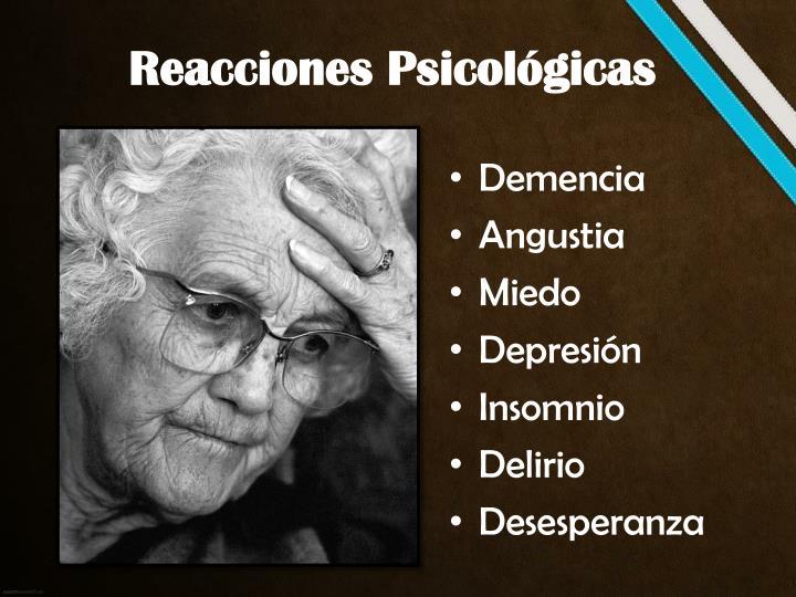 Reacciones Psicológicas