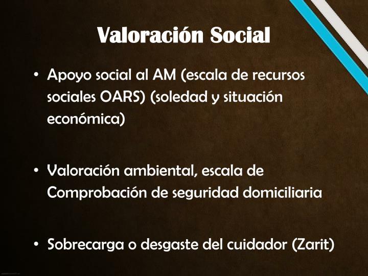 Valoración Social