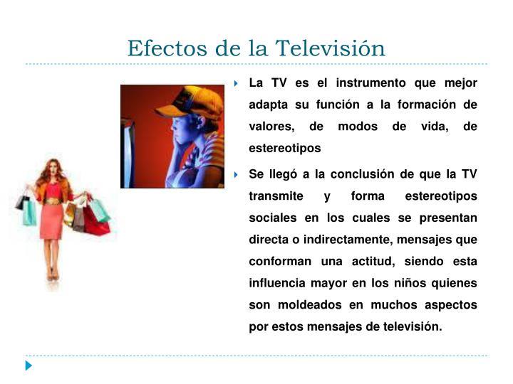 Efectos de la Televisión