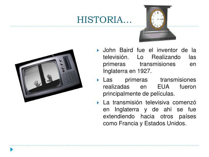 HISTORIA…