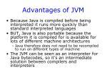 advantages of jvm