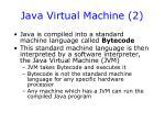java virtual machine 2