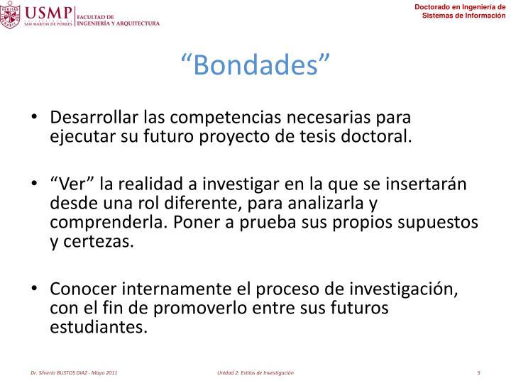 """Bondades"""