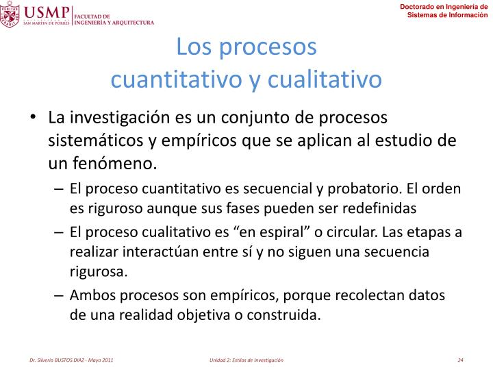 Los procesos