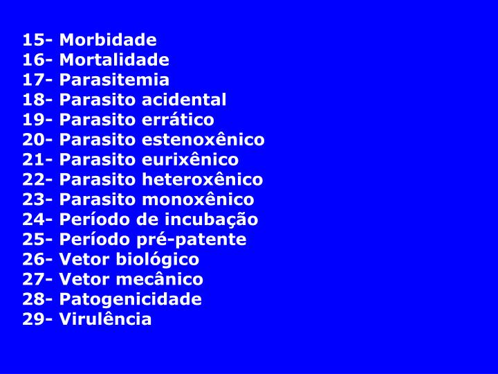 15- Morbidade