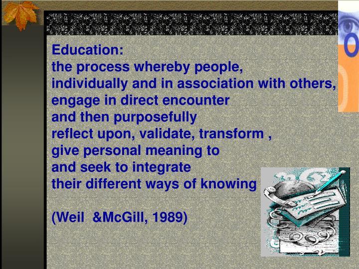 Education: