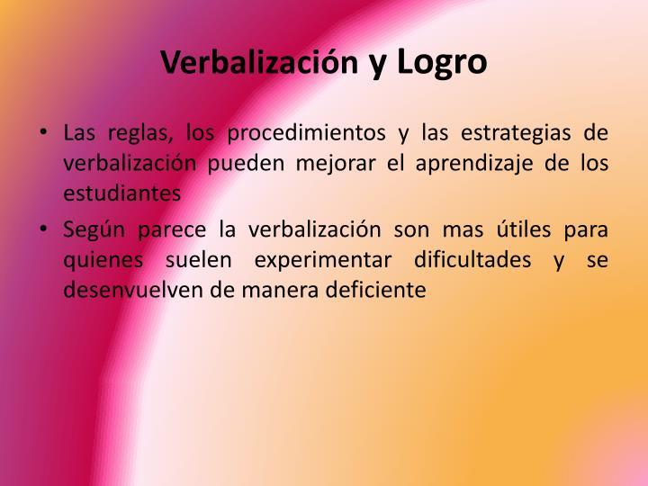 Verbalización
