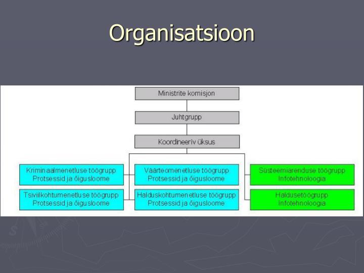 Organisatsioon