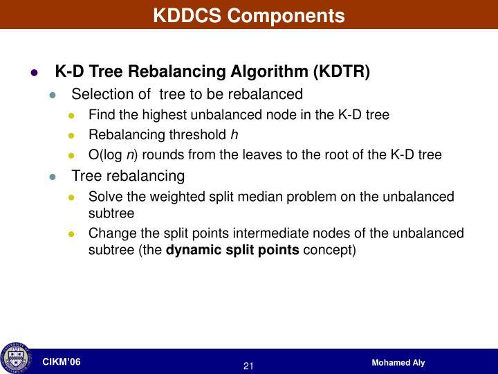 KDDCS Components