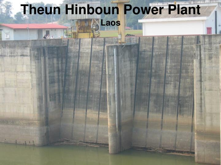 Theun Hinboun Power Plant
