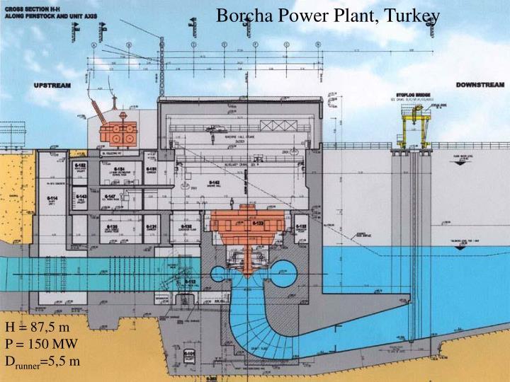 Borcha Power Plant, Turkey