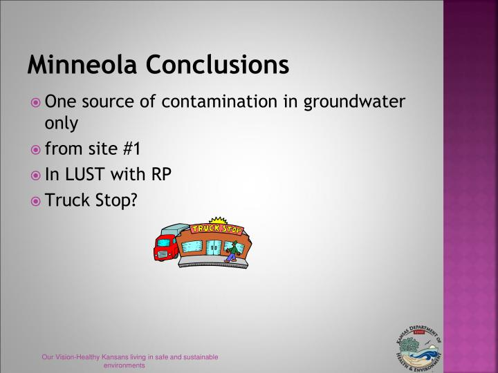 Minneola Conclusions