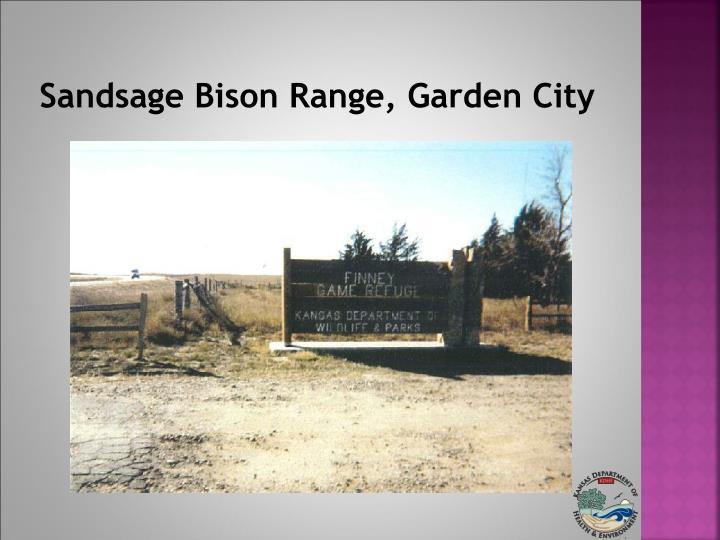 Sandsage Bison Range, Garden City