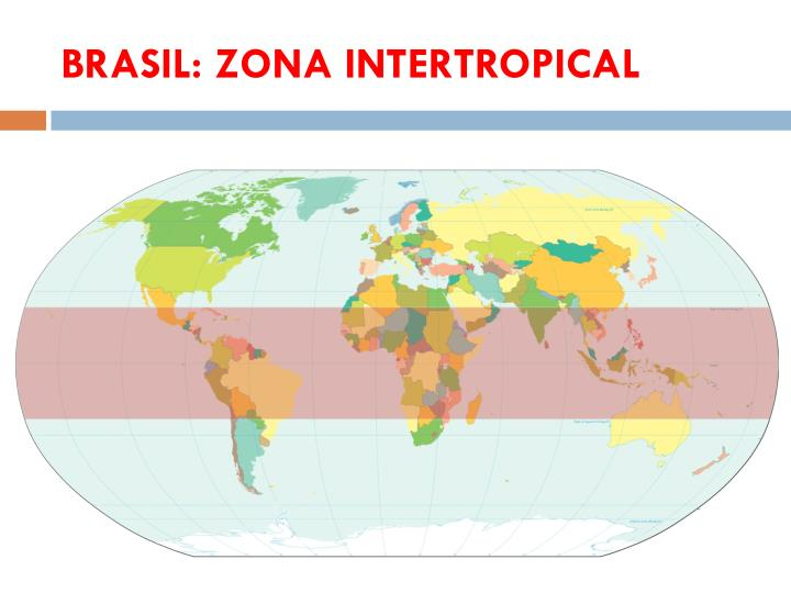 BRASIL: ZONA INTERTROPICAL
