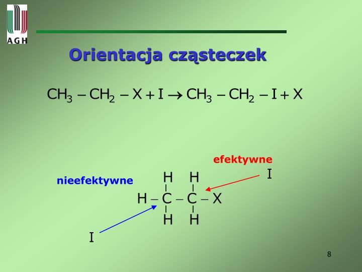 Orientacja cząsteczek