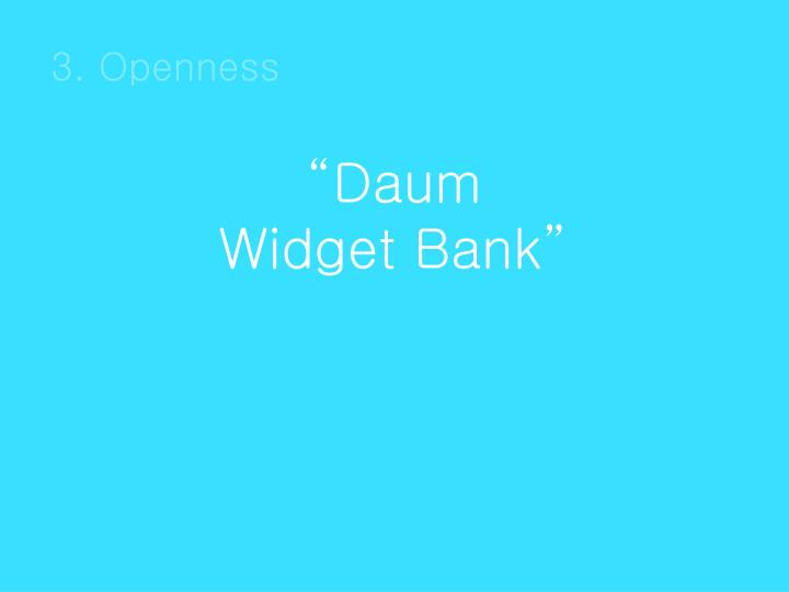 3. Openness