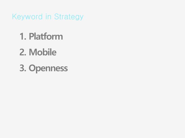 Keyword in Strategy