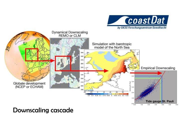 Downscaling cascade