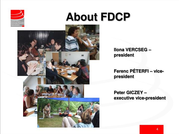 About FDCP