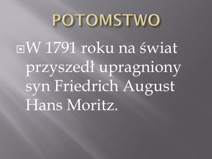 POTOMSTWO