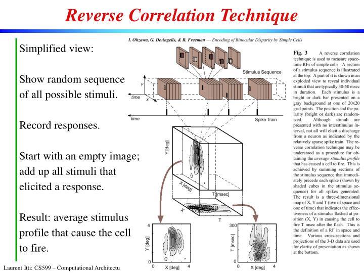 Reverse Correlation Technique