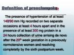 defenition of preeclampsia