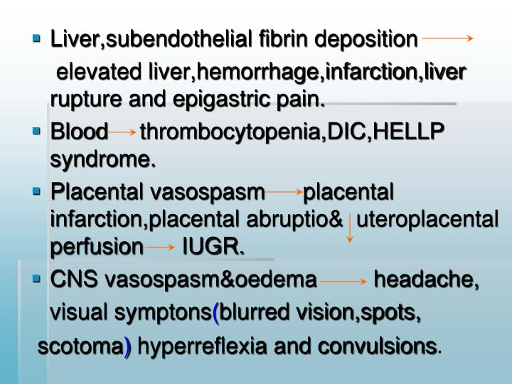 Liver,subendothelial fibrin deposition