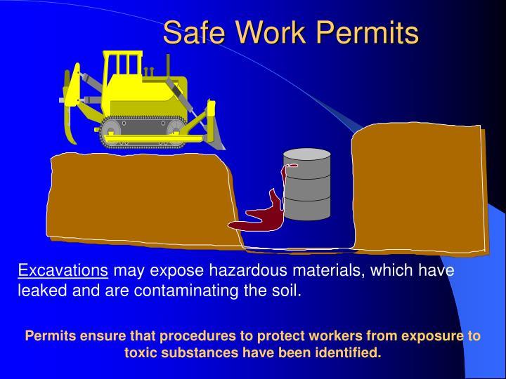 Safe Work Permits