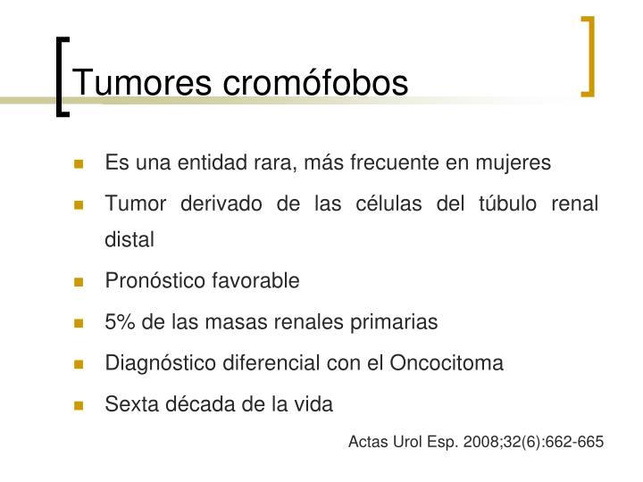 Tumores cromófobos