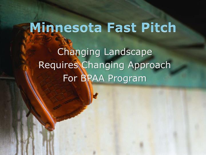 Minnesota Fast Pitch