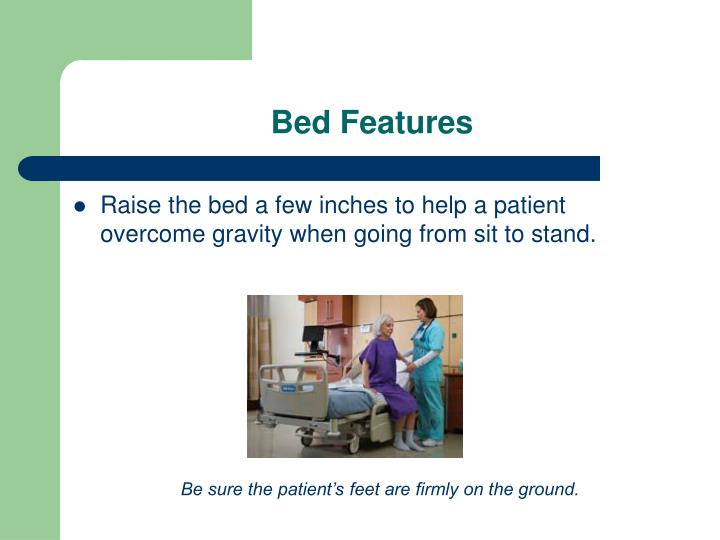 Bed Features