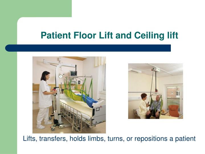 Patient Floor Lift and Ceiling lift