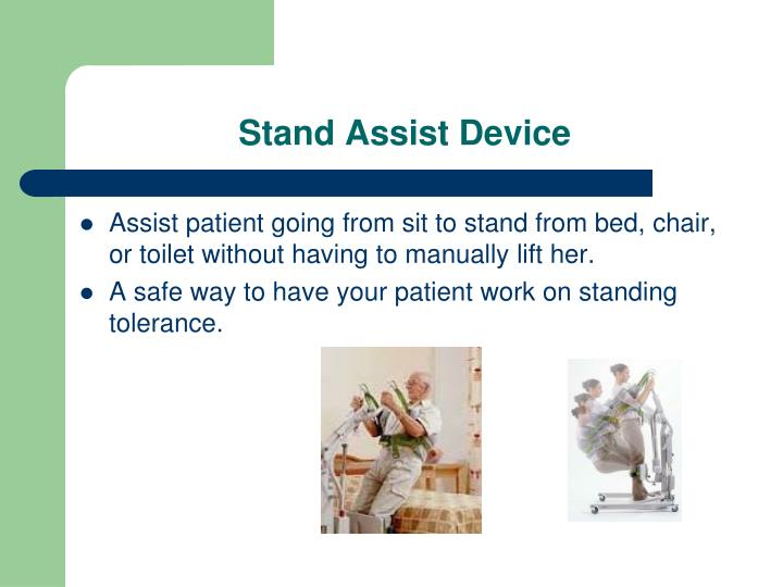 Stand Assist Device