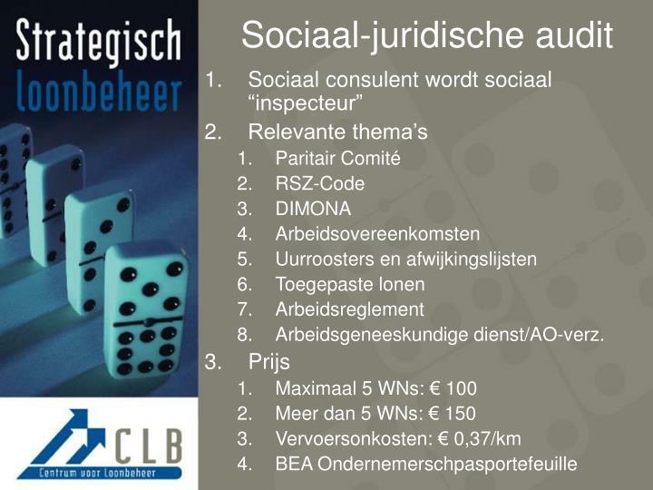 Sociaal-juridische audit