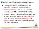 technician observation conclusions2