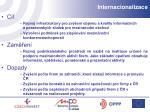 internacionalizace