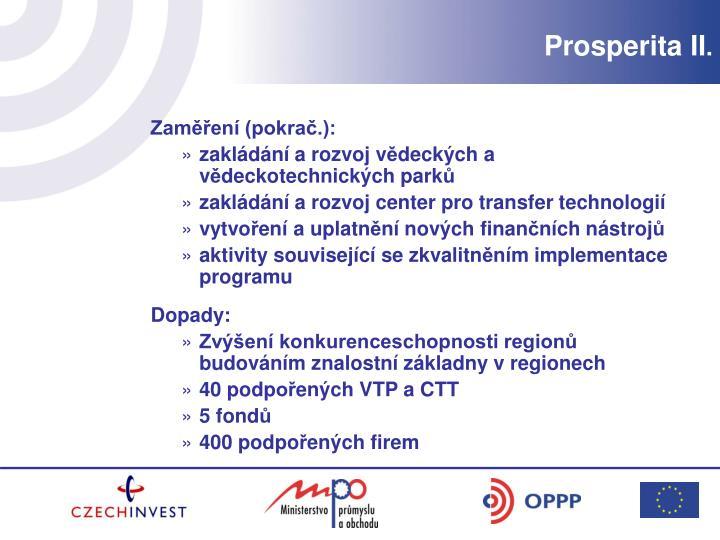 Prosperita II