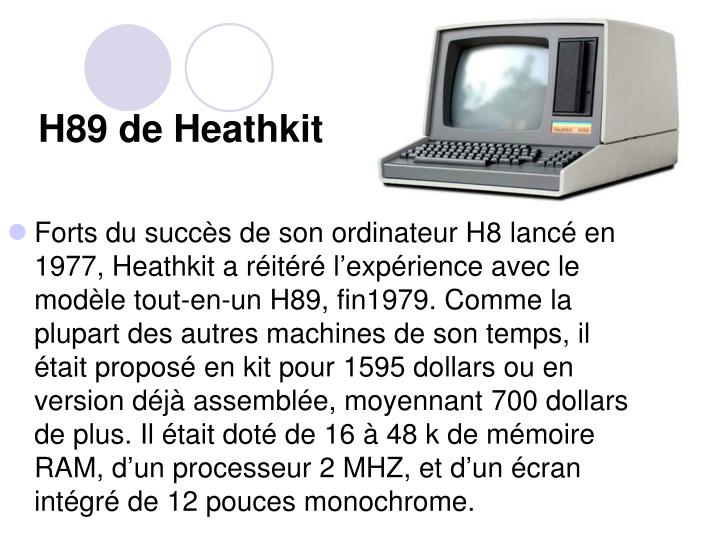 H89 de Heathkit