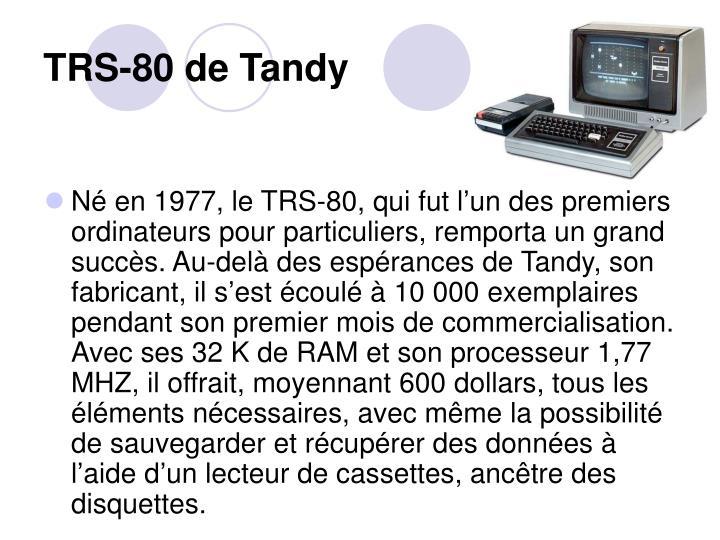 TRS-80 de Tandy