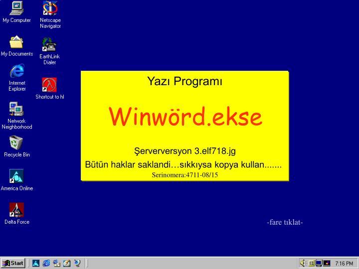 Yazı Programı