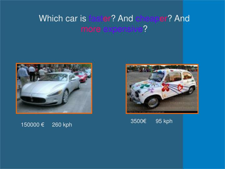 Which car is