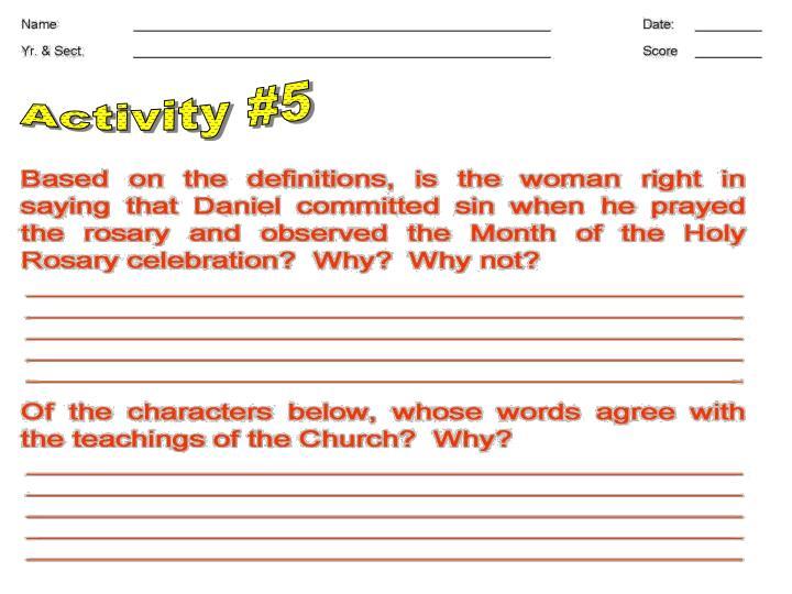 Activity #5