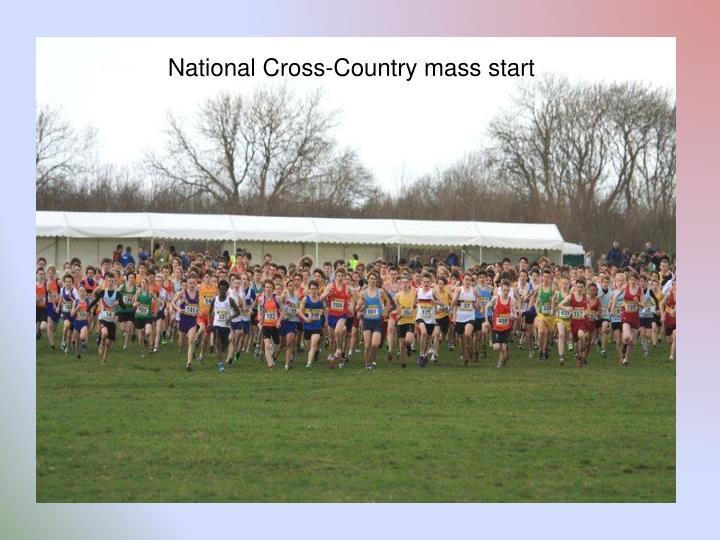National Cross-Country mass start