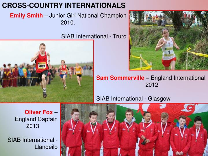 CROSS-COUNTRY INTERNATIONALS
