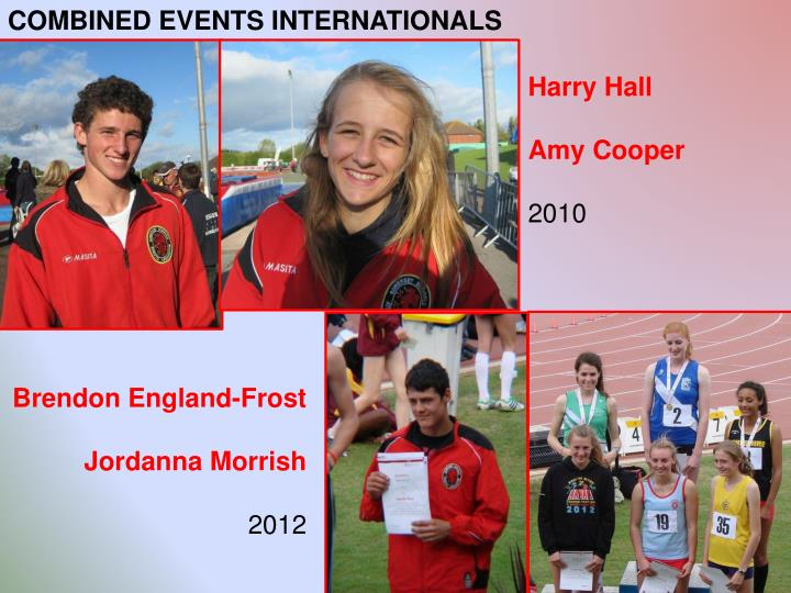 COMBINED EVENTS INTERNATIONALS