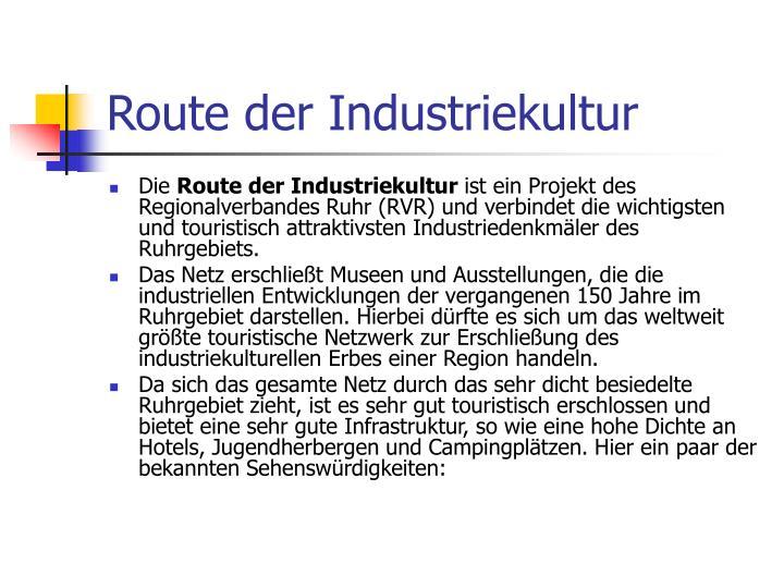 Route der Industriekultur