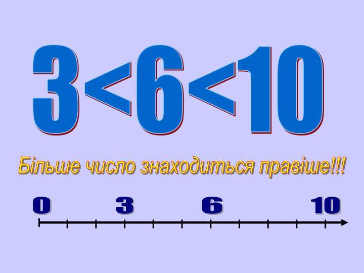 3<6<10