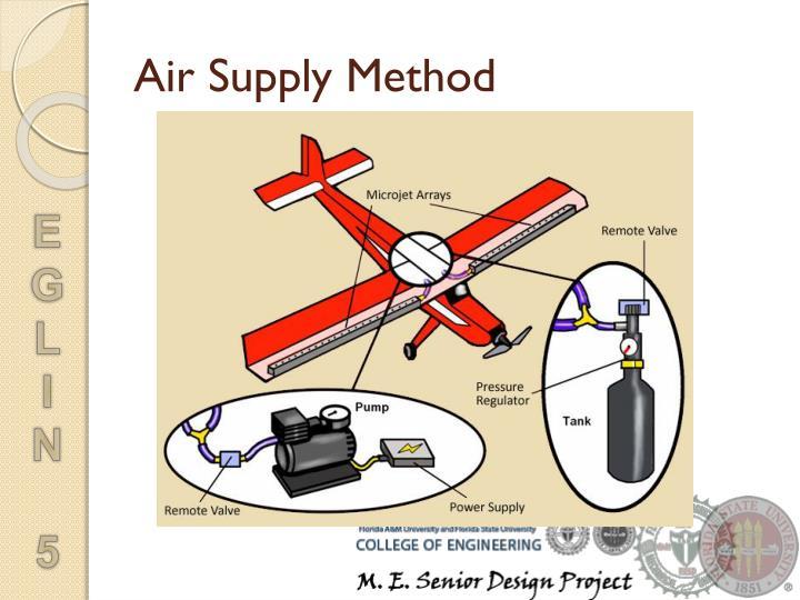Air Supply Method