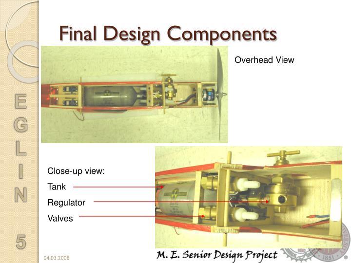Final Design Components