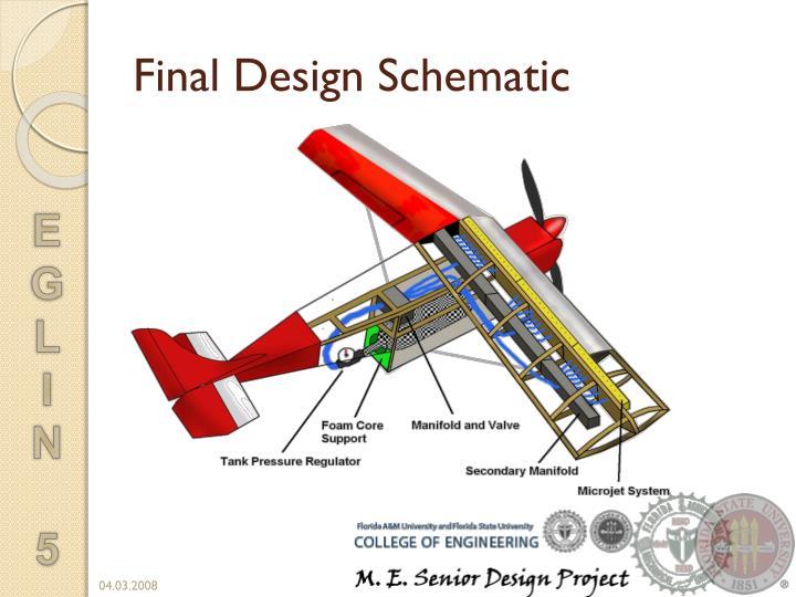 Final Design Schematic